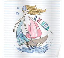 I love sea Poster
