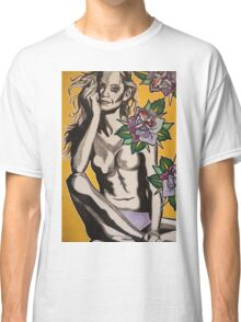 Mischief Among Roses  Classic T-Shirt