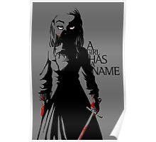 Arya Stark of Winterfell Poster