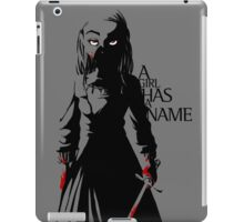 Arya Stark of Winterfell iPad Case/Skin