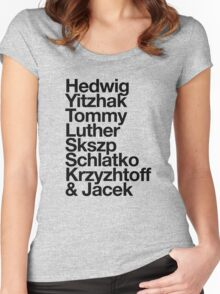hedwig and the angry inches Women's Fitted Scoop T-Shirt
