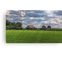 Homestead on the Prairies Canvas Print