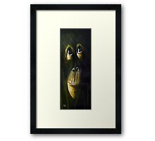 Baby Orangutan Framed Print