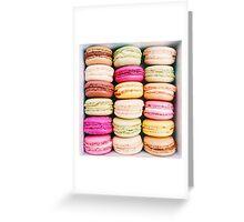 French Macarons - Paris Greeting Card