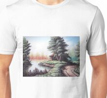 Nature in pale color Unisex T-Shirt