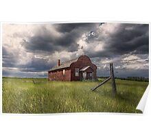 Modern Family on the Prairies Poster