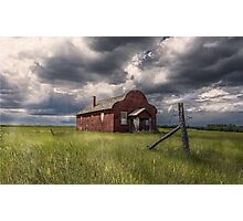 Modern Family on the Prairies Photographic Print