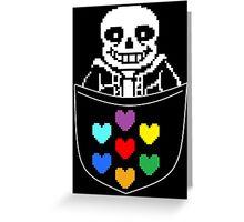 Pocket Sans Greeting Card