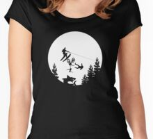 Jump the Shark Women's Fitted Scoop T-Shirt