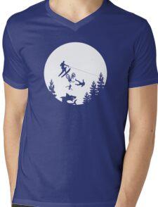 Jump the Shark Mens V-Neck T-Shirt