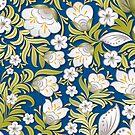 Flower Art Pattern by T-ShirtsGifts
