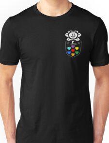 Pocket Flowey Unisex T-Shirt
