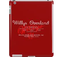 Willys Overland Corporation USA iPad Case/Skin