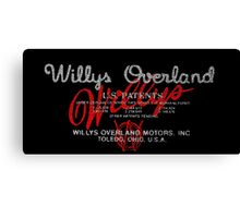 Willys Overland Corporation USA Canvas Print