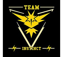 Team Instinct Pokémon GO Photographic Print