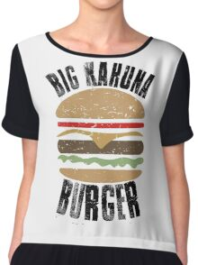 Big Kahuna Burger - Pulp Fiction Chiffon Top