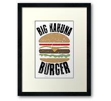 Big Kahuna Burger - Pulp Fiction Framed Print