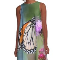 King of the Monarchs! A-Line Dress