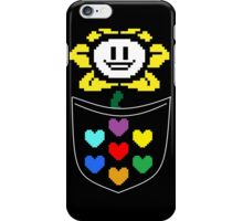 Pocket Flowey (color) iPhone Case/Skin