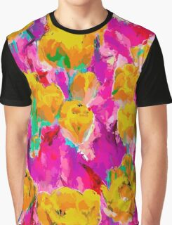 Tulip Field  Graphic T-Shirt