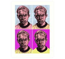 Pop Kirk Art Print