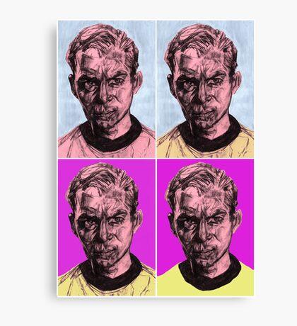 Pop Kirk Canvas Print