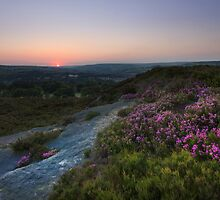 Norland moor sunset by chris2766