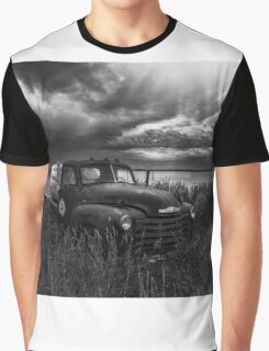 Road Closed - BW Graphic T-Shirt