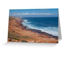 Kalbarri Coastline Greeting Card