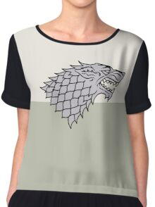Game of Thrones - Stark Chiffon Top