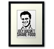 Joey Doesn't Share Food Framed Print