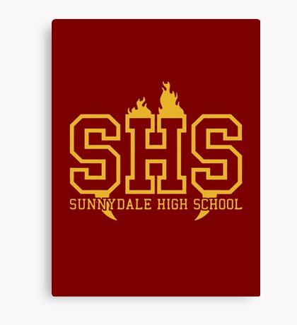 Sunnydale High School Canvas Print