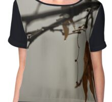Forgotten by the last storm Chiffon Top