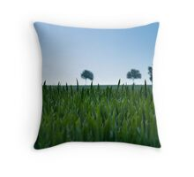 Field and Farmland Throw Pillow