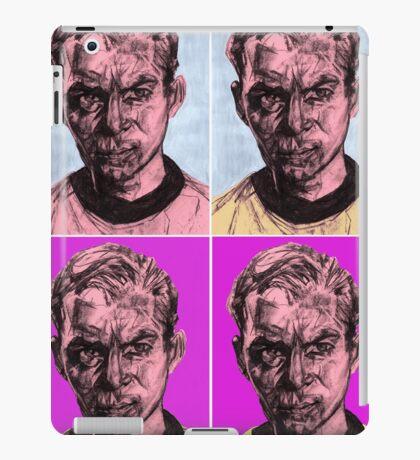 Pop Kirk iPad Case/Skin