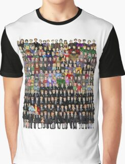 Harry Potter Characters Graphic T-Shirt