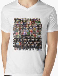Harry Potter Characters Mens V-Neck T-Shirt