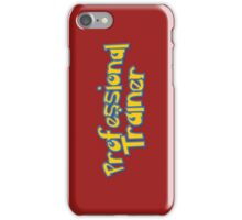 Pro Trainer (Color) iPhone Case/Skin