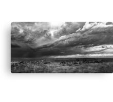 Rolling Thunder - BW Canvas Print