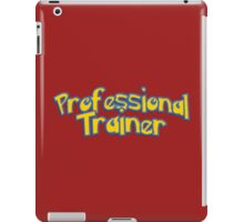 Pro Trainer (Color) iPad Case/Skin