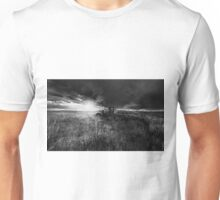 Running on Empty - BW Unisex T-Shirt