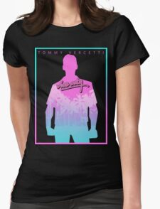 Vice City Neon Womens Fitted T-Shirt