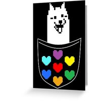 Pocket dog Greeting Card