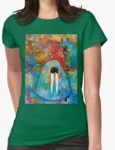 I Am the Walrus Womens Fitted T-Shirt