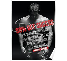 Wake Up Everyday With Hope and Motivation Poster