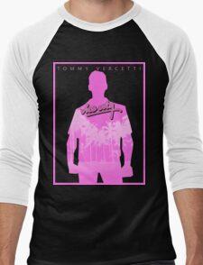 Vice City Pink Men's Baseball ¾ T-Shirt