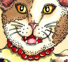 Jester Cat Sticker