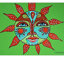 Tribal Sun  Photographic Print
