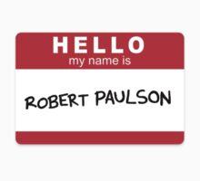 Robert Paulson Kids Tee