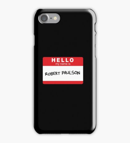 Robert Paulson iPhone Case/Skin